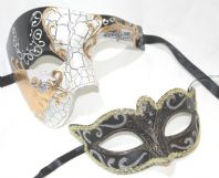 Gold & Black Phantom Masks